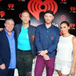 Elvis and Carolina with Coldplay - iHeartRadio Music Festival