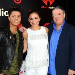 Elvis and Carolina with Bruno Mars - iHeartRadio Music Festival