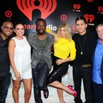 Elvis and Carolina with The Black Eyed Peas - iHeart Radio Music Festival