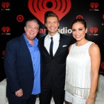 Elvis and Carolina with Ryan Seacrest - iHeart Radio Music Festival
