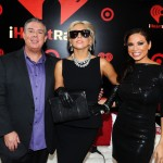 Elvis and Carolina with Lady Gaga at the iHeart Radio Music Festival