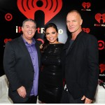 Elvis and Carolina with Sting at the iHeart Radio Music Festival