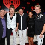 Elvis and Carolina with Rascal Flatts at the iHeart Radio Music Festival