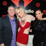 Elvis and Carolina with Natasha Bedingfield at the iHeart Radio Music Festival